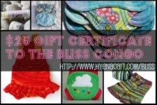 $25 Bliss Gift Certificate