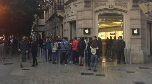El iPhone X sale a la venta en España