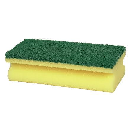 Kökssvamp gul/grön       10/fp