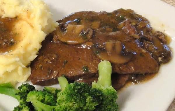 Steak And Mushroom Gravy