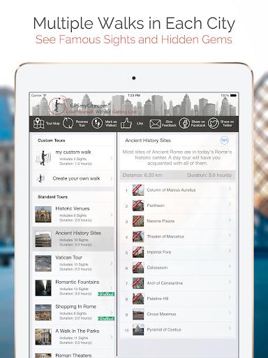 玩旅遊App Pretoria Map and Walks免費 APP試玩