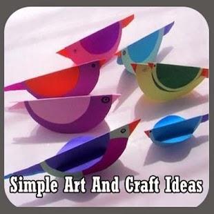 Jednoduché umění a řemeslné - náhled
