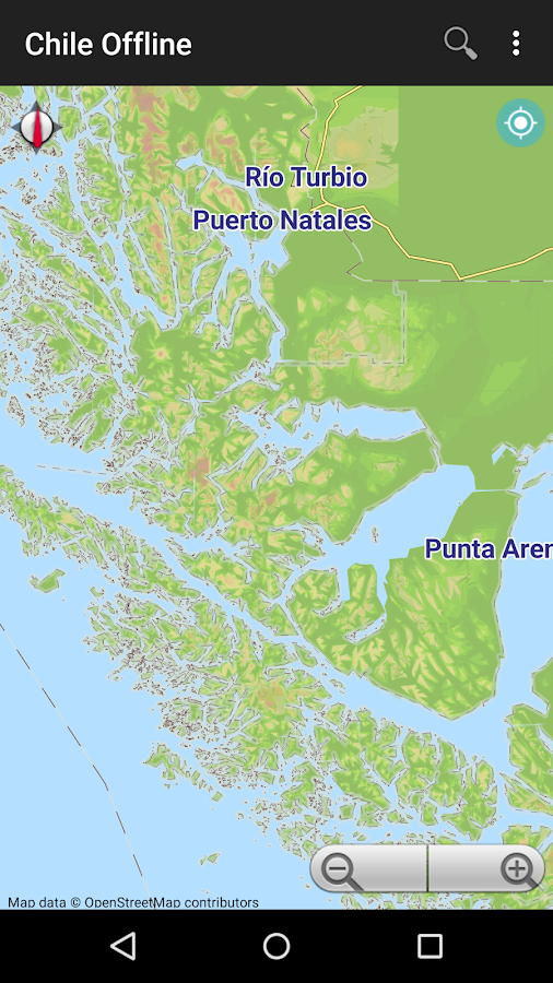 Chile Offline Map Android Apps On Google Play - Map of chile