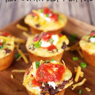 Taco Cornbread Muffins