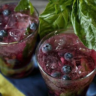 Blueberry Basil Smash Recipe