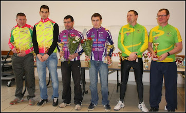 Photo: podium des tandems