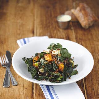 J.J. Hapgood's Kale Salad With Wheat Berries