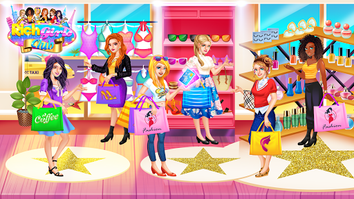 Code Triche Rich Girls Shopping 🛍  - Cash Register Games mod apk screenshots 5