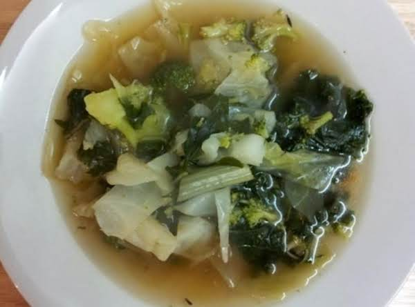 Jason's Green Garden Soup (vegan) Recipe