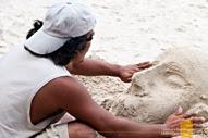 Sand Sculpture Boracay