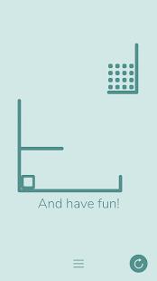 Gravity Box - Minimalist Physics Game Screenshot