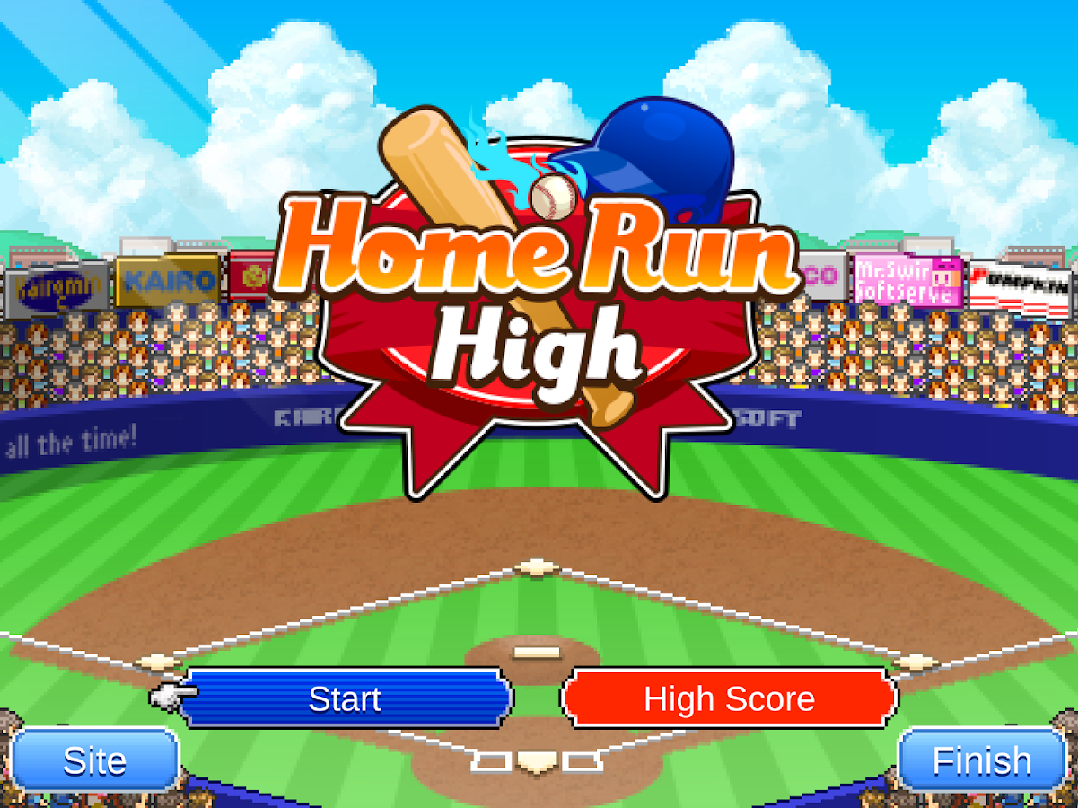 Home Run High- screenshot
