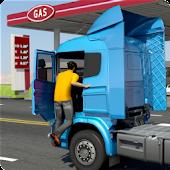 خزان نفط الناقل شاحنة محاكاة