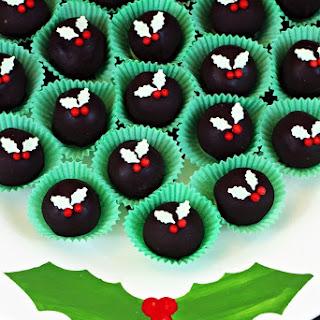 Christmas Coffee Truffles