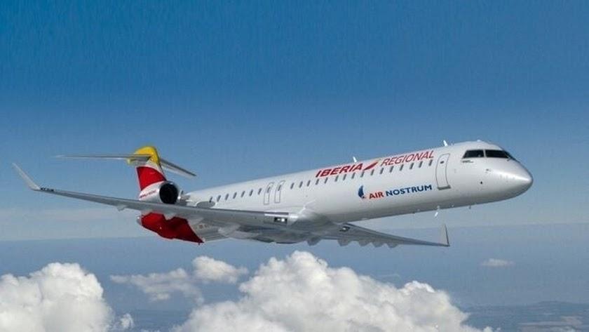 Iberia ya ha anunciado una considerable rebaja de los precios de los vuelos entre Granada y Madrid, con la llegada del AVE.