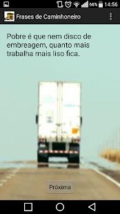 Frases de Caminhoneiro- screenshot thumbnail
