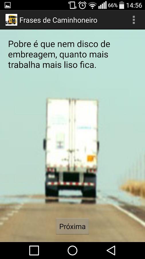 Frases de Caminhoneiro- screenshot