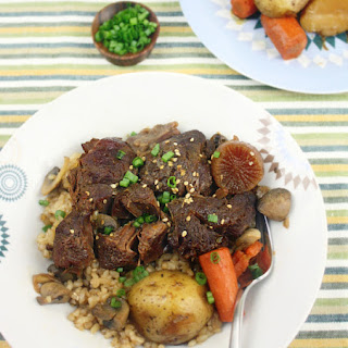 Korean Soy-Braised Beef Shanks