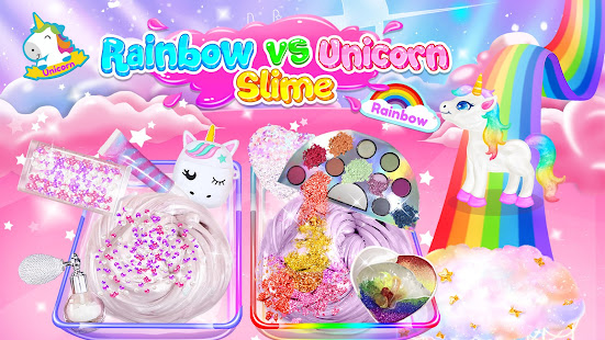 Rainbow vs Unicorn Makeup Slime 1.4 APK + Mod (Free purchase) for Android
