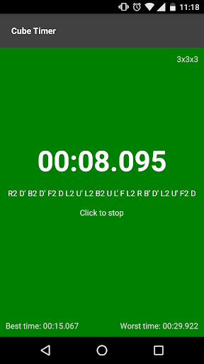 Download Cube timer on PC & Mac with AppKiwi APK Downloader