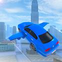 Flying Sports Car Simulator icon