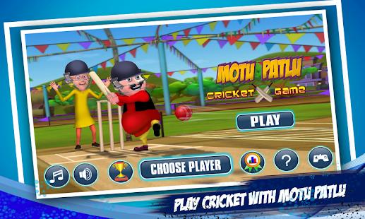 Motu Patlu Cricket Game Screenshot