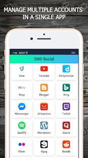 Všechny možnosti aplikace sociálních médií a proh - náhled