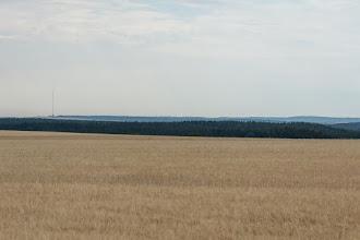 Photo: W dali widoczny maszt Kojál. Jego wysokość wynosi 322 m