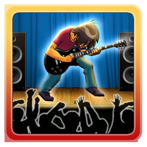 搖滾吉他英雄遊戲 音樂 App LOGO-APP開箱王