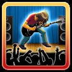 Rock Guitar Hero Game Icon