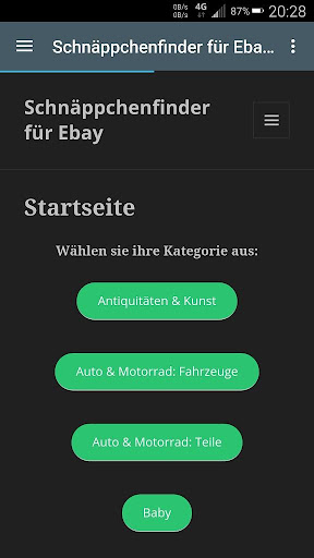 1€ auctions on ebay Germany