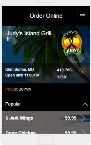 Judy´s Island Grill- screenshot