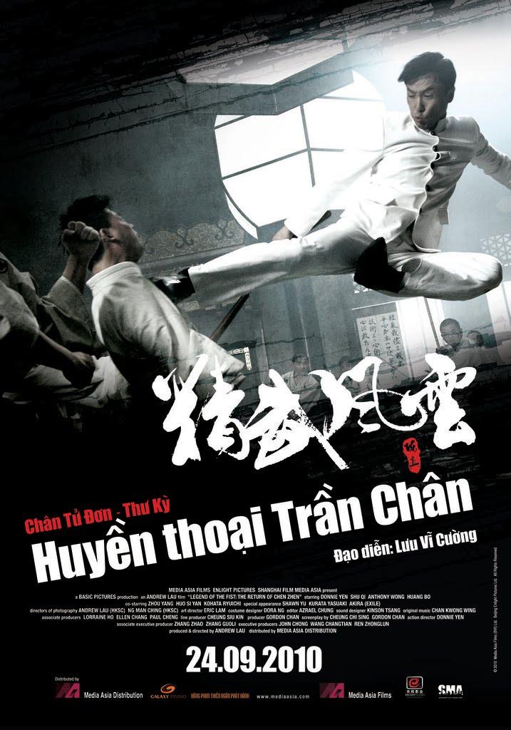 Phim Huyền Thoại Trần Chân - Legend Of The First: The Return Of Chen Zhen 2010