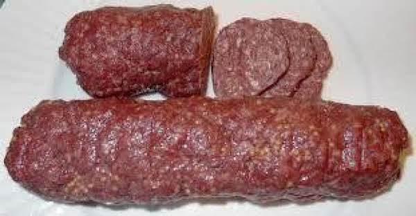 Easy Homemade Summer Sausage Recipe