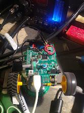 Photo: Motor Speed Sensor test setup