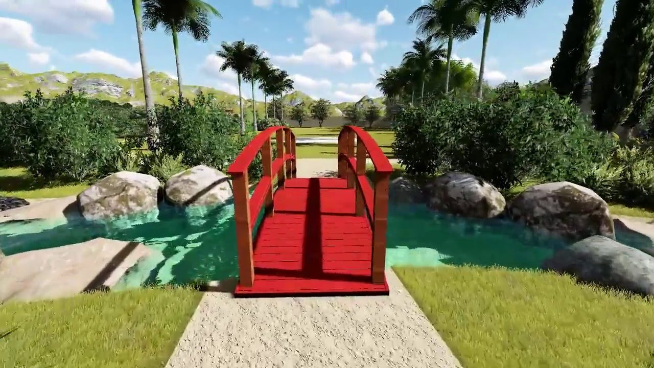 Ponte vermelha sítio jonosake