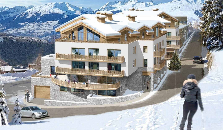 Appartement avec terrasse Peisey-Nancroix