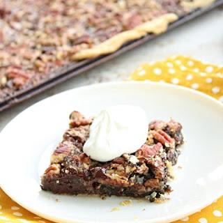 Chocolate Pecan Slab Pie Recipe