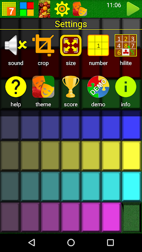 SLIDE PUZZLE - screenshot