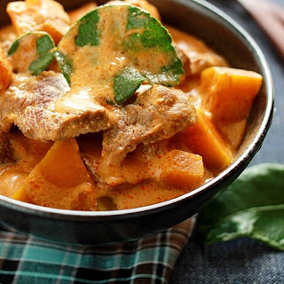 Beef Curry with Pumpkin Recipe