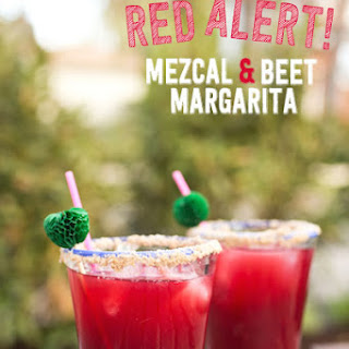 Red Alert (Mezcal and Beet Margarita)