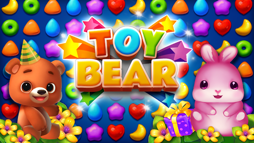 Toy Bear Sweet POP : Match 3 Puzzle apkpoly screenshots 2