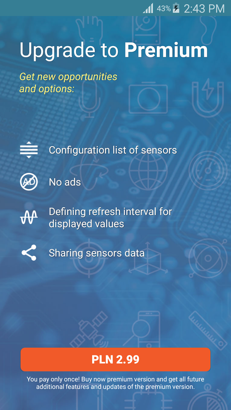 Sensors Toolbox Screenshot 2
