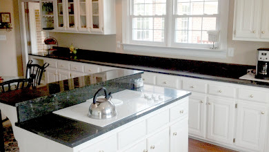 Photo: Island and Granite Counter tops