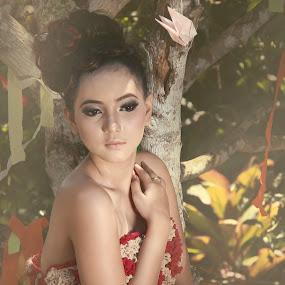 Mrs. D by Havidz Zhurrahman - People Fashion ( fashion, tree, indonesia, beauty, women )