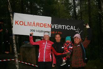 Photo: Glada damsegrare! 1. Rebecka Heinrup, Tullinge Sportklubb 2. Therese Kleist, IK Akele 3. Jenni Oscarsson,GoIF Tjalve