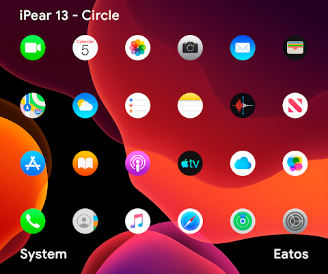 iPear - Pixel Icon Pack Screenshot Image