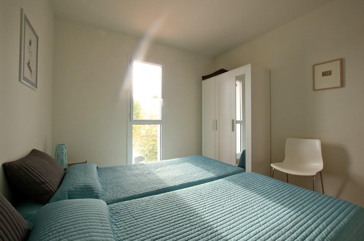 Schlafzimmer 3 (2 Einzelbetten)