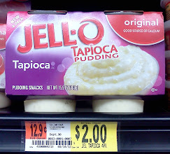 Photo: Oh how I enjoy tapioca pudding, I'll use the calcium as an excuse to get it. Now off to grab OJ.