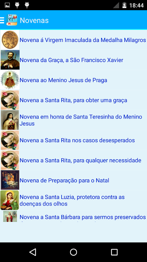 Novenas Católica JMC - screenshot